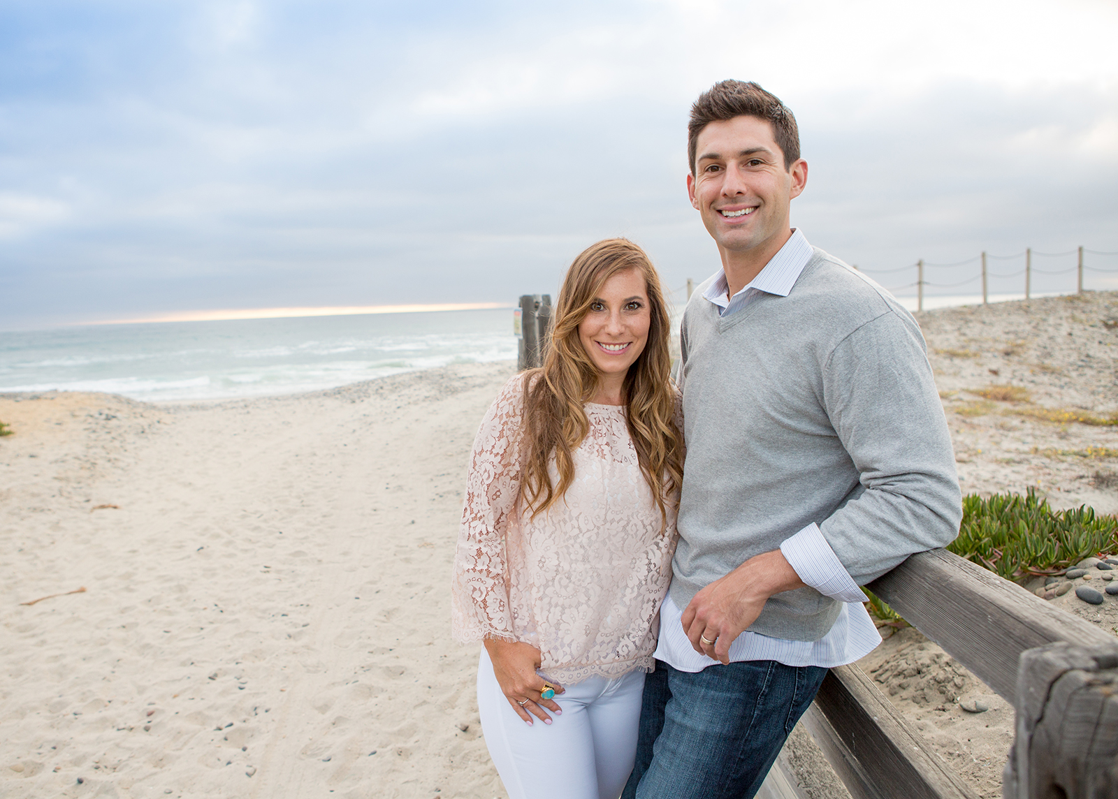 family photos taken on the beach in Carlsbad by a professional photographer in San Diego and Oceanside.