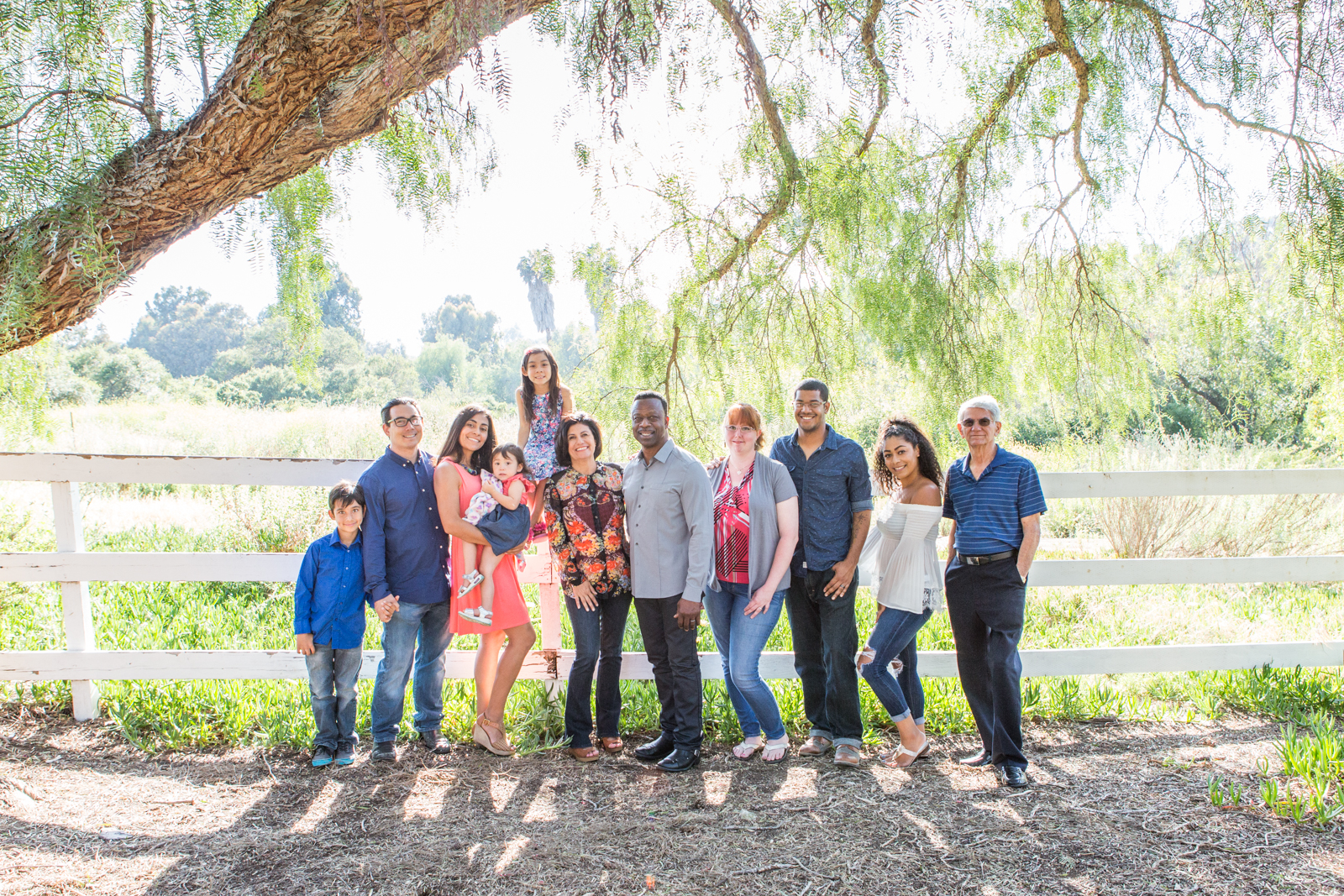 family photos taken at Jacks Pond San Marcos by a professional photographer in San Diego and Oceanside.
